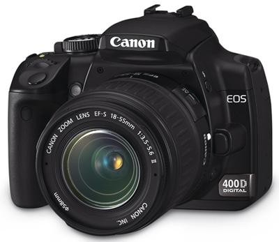 My new camera Canon 400D
